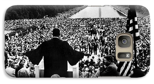 Martin Luther King Jr Galaxy Case by American School