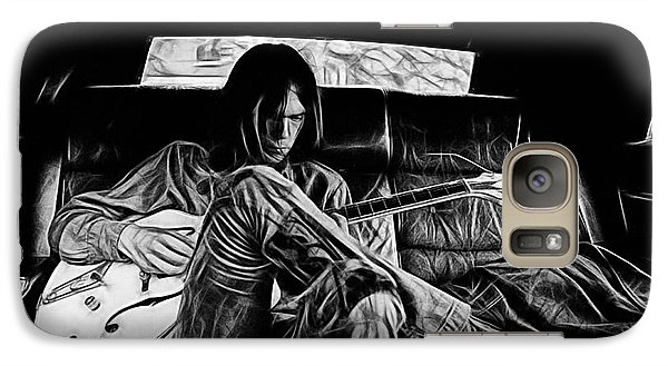 Neil Young Collection Galaxy S7 Case by Marvin Blaine