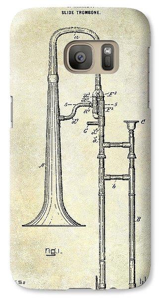 1902 Trombone Patent Galaxy Case by Jon Neidert