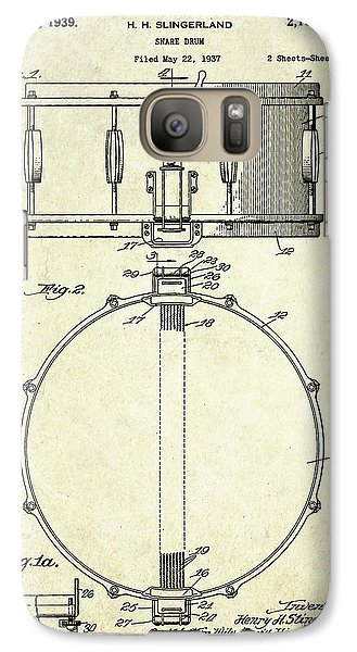 1939 Slingerland Snare Drum Patent S1 Galaxy Case by Gary Bodnar