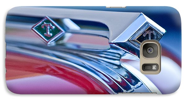1949 Diamond T Truck Hood Ornament 3 Galaxy S7 Case by Jill Reger