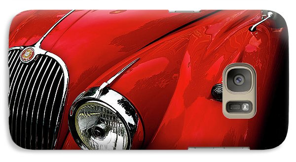 Galaxy Case featuring the photograph 1960s Jaguar by M G Whittingham