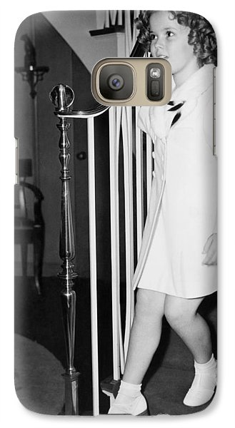 Actress Shirley Temple Galaxy Case by Underwood Archives