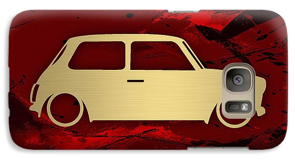 Austin Mini Cooper Galaxy Case by Marvin Blaine
