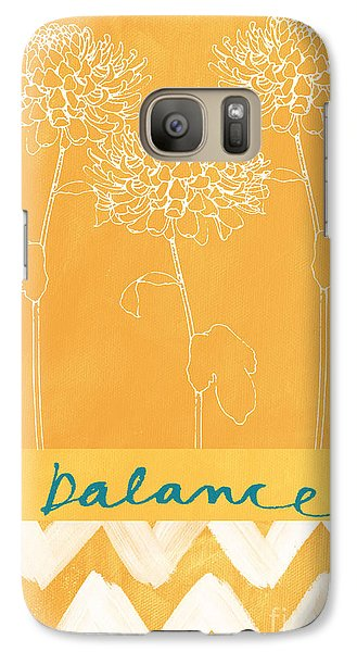 Balance Galaxy Case by Linda Woods