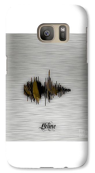 Believe Recorded Soundwave Collection Galaxy Case by Marvin Blaine