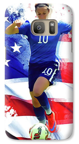 Carli Lloyd Galaxy Case by Semih Yurdabak