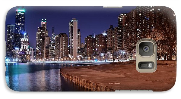 Chicago From The North Galaxy Case by Frozen in Time Fine Art Photography