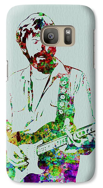 Eric Clapton Galaxy S7 Case by Naxart Studio