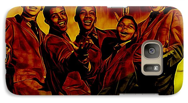Frankie Lymon Collection Galaxy Case by Marvin Blaine