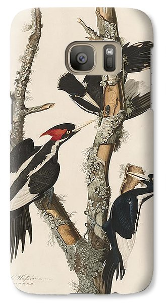 Ivory-billed Woodpecker Galaxy S7 Case by John James Audubon