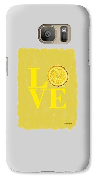Lemon Galaxy Case by Mark Rogan