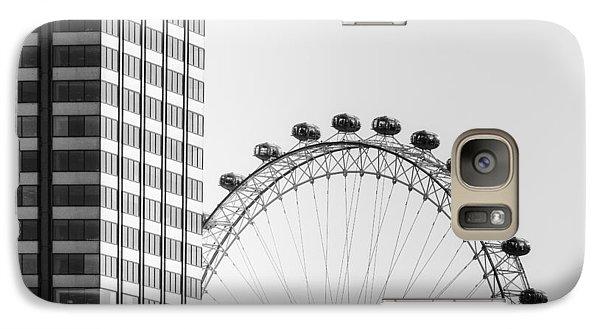 London Eye Galaxy Case by Joana Kruse