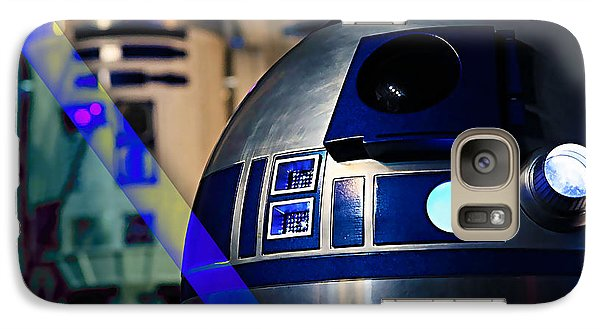 Star Wars R2-d2 Collection Galaxy Case by Marvin Blaine