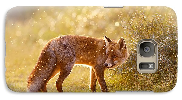 The Fox And The Fairy Dust Galaxy S7 Case by Roeselien Raimond