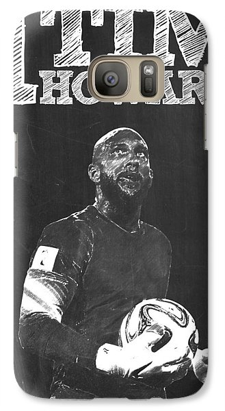 Tim Howard Galaxy Case by Semih Yurdabak