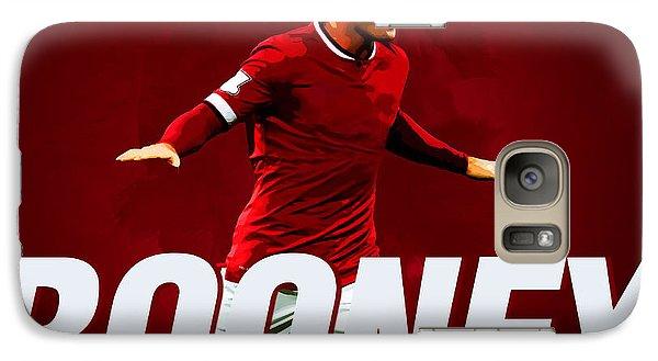 Wayne Rooney Galaxy Case by Semih Yurdabak