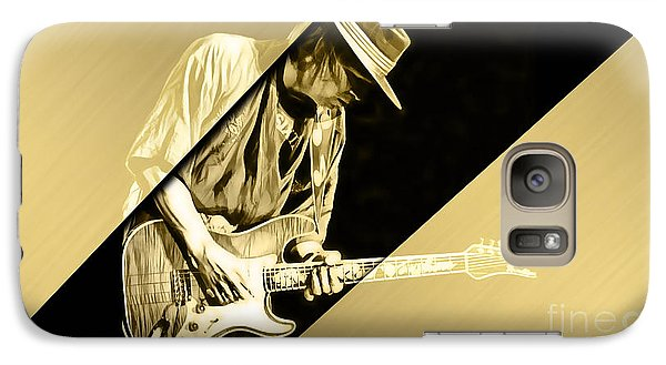Stevie Ray Vaughan Collection Galaxy Case by Marvin Blaine