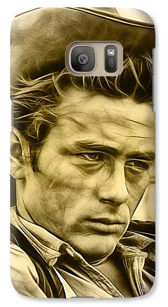James Dean Collection Galaxy Case by Marvin Blaine