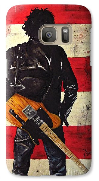 Bruce Springsteen Galaxy S7 Case by Francesca Agostini