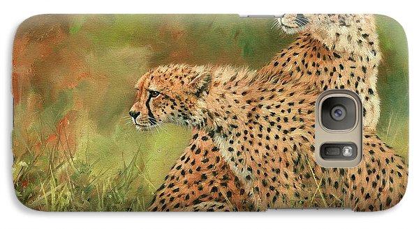 Cheetahs Galaxy Case by David Stribbling