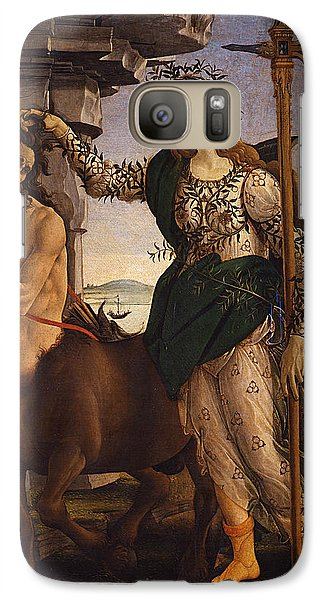 Pallas And The Centaur Galaxy Case by Sandro Botticelli