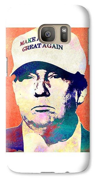 Donald Trump 2016 Presidential Candidate Galaxy Case by Elena Kosvincheva