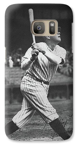 Babe Ruth  Galaxy Case by American School