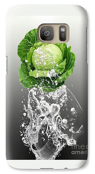 Cabbage Splash Galaxy Case by Marvin Blaine