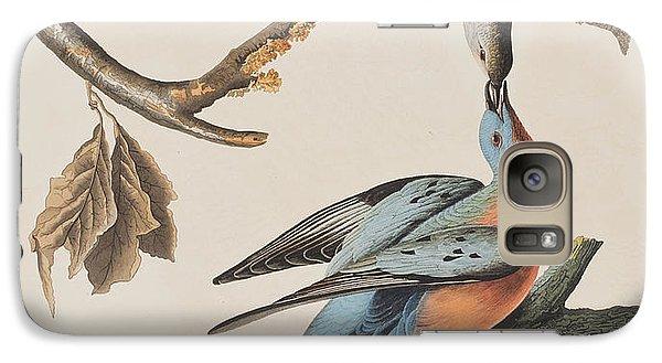 Passenger Pigeon Galaxy Case by John James Audubon