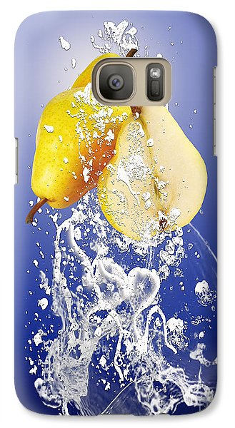 Pear Splash Collection Galaxy Case by Marvin Blaine