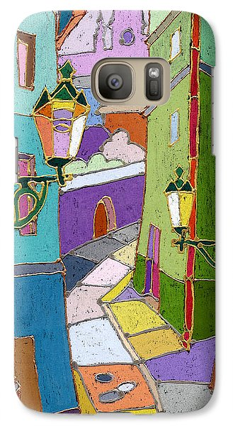 Prague Old Street Galaxy S7 Case by Yuriy  Shevchuk