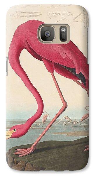 American Flamingo Galaxy Case by John James Audubon