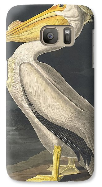 American White Pelican Galaxy S7 Case by John James Audubon