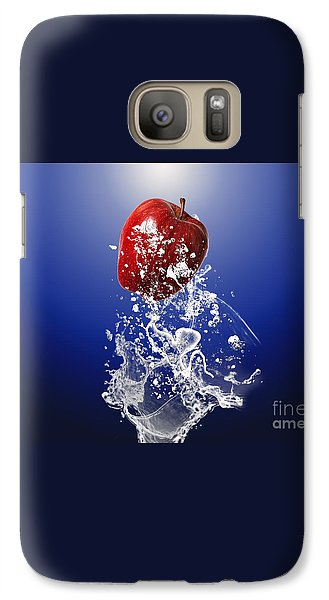 Apple Splash Galaxy Case by Marvin Blaine