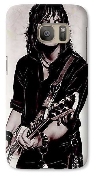 Joan Jett Collection Galaxy Case by Marvin Blaine