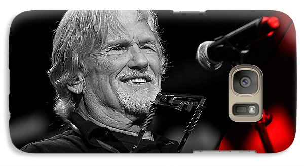 Kris Kristofferson Collection Galaxy Case by Marvin Blaine