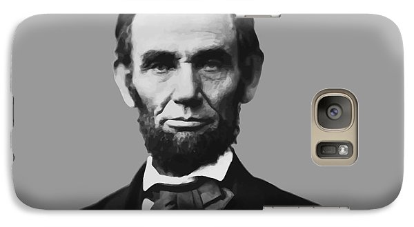 President Lincoln Galaxy S7 Case by War Is Hell Store