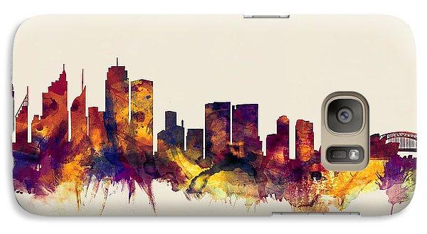 Sydney Australia Skyline Galaxy S7 Case by Michael Tompsett