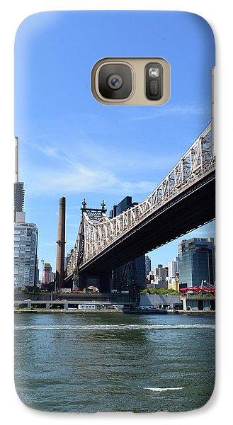 59th Street Bridge No. 13 Galaxy Case by Sandy Taylor