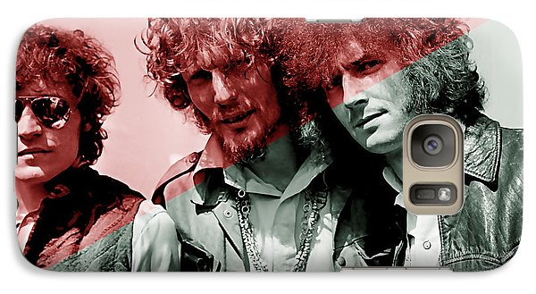 Cream Eric Clapton Jack Bruce Ginger Baker Galaxy Case by Marvin Blaine
