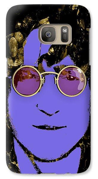 John Lennon Collection Galaxy Case by Marvin Blaine