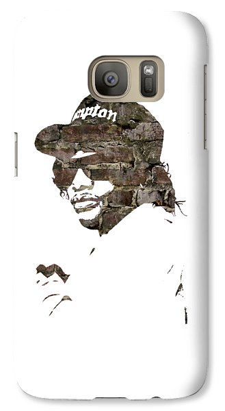 Eazy E Straight Outta Compton Galaxy Case by Marvin Blaine