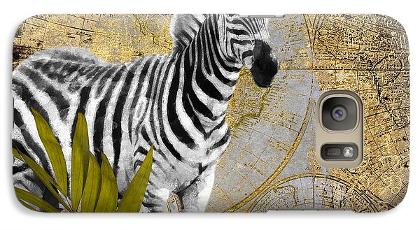 A Taste Of Africa Zebra Galaxy Case by Mindy Sommers