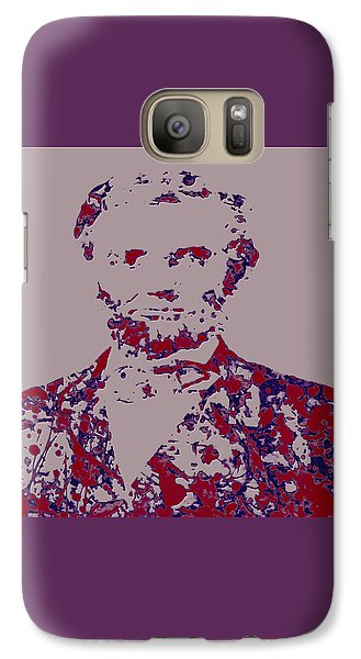 Abraham Lincoln 4c Galaxy S7 Case by Brian Reaves