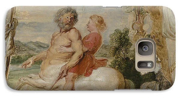 Achilles Educated By The Centaur Chiron Galaxy Case by Peter Paul Rubens