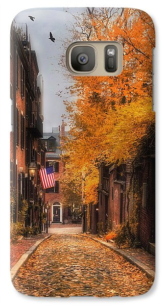 Acorn St. Galaxy Case by Joann Vitali