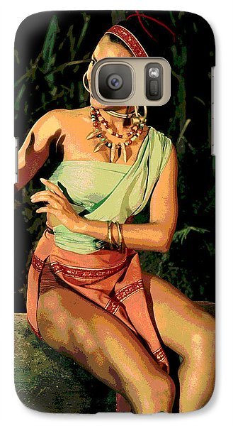 Actress Dorothy Fandridge Galaxy Case by Charles Shoup