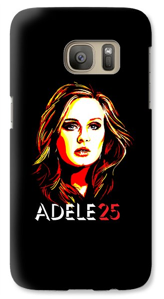 Adele 25-1 Galaxy S7 Case by Tim Gilliland