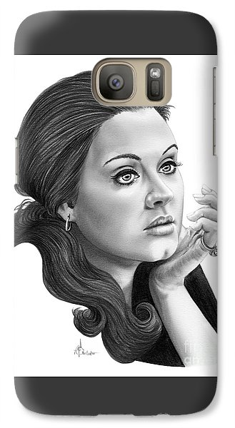 Adele Galaxy S7 Case by Murphy Elliott